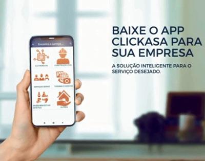 Clickasa chega para incentivar o mercado de serviços e aumentar a renda de prestadores