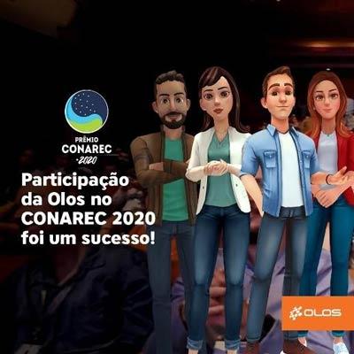 """Em participação inovadora no CONAREC 2020, Olos é premiada como """"Melhor Discador Preditivo de 2020"""""""