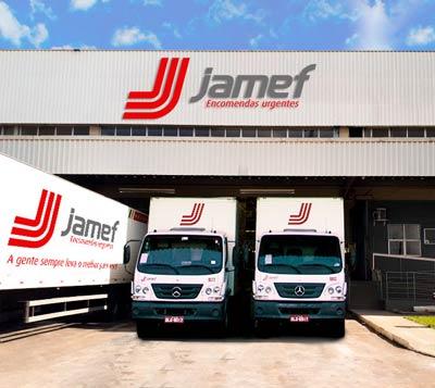 Jamef continua plano de expansão e inaugura unidade em Brasília