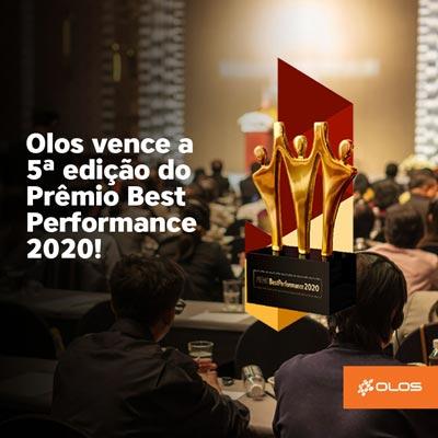 Olos conquista ouro no Prêmio Best Performance
