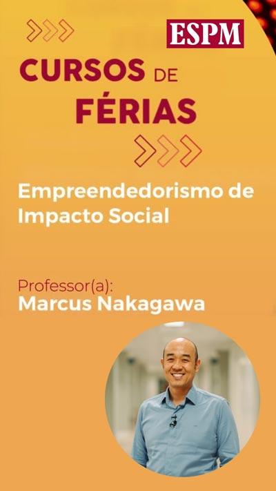 Últimos dias de inscrição para o curso Empreendedorismo de Impacto Social
